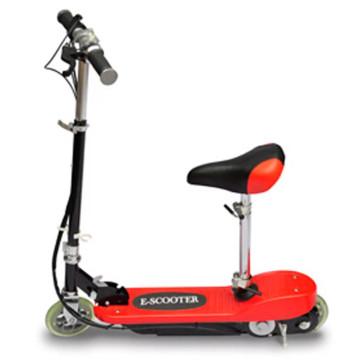 Piros elektromos roller üléssel 120 W - utánvéttel vagy ingyenes szállítással