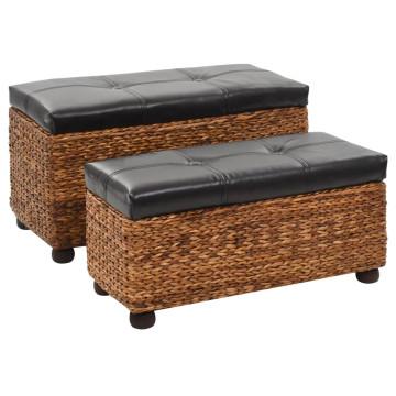 2 darabos barna tengerifű pad-garnitúra - utánvéttel vagy ingyenes szállítással