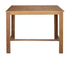 Tömör akácfa bárasztal 120 x 60 x 105 cm - utánvéttel vagy ingyenes szállítással