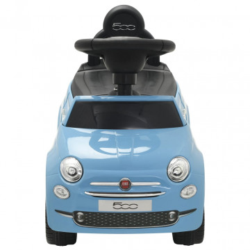 Kék ráülős Fiat 500 játékautó - ingyenes szállítás