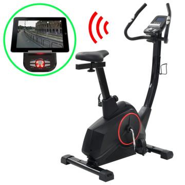Programozható mágneses szobakerékpár pulzusmérővel - ingyenes szállítás