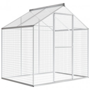 Kültéri alumínium madárház 178 x 122 x 194 cm - utánvéttel vagy ingyenes szállítással