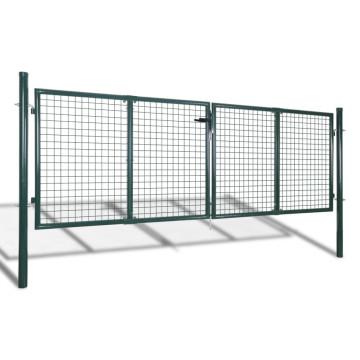 Kerti hálórácsos kerítéskapu 289 x 75 cm / 306 x 125 cm - utánvéttel vagy ingyenes szállítással