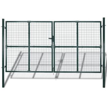 Kerti hálós kapu kerítés ajtó fali rács 289 x 175 cm / 306 x 225 cm - utánvéttel vagy ingyenes szállítással