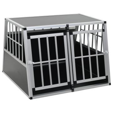 Kétajtós kutyaszállító ketrec 94 x 88 x 69 cm - utánvéttel vagy ingyenes szállítással