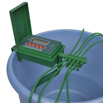 Automata öntözőrendszer vízpermetezővel és időzítővel - utánvéttel vagy ingyenes szállítással