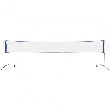 Tollaslabda háló tollaslabdákkal 600 x 155 cm - utánvéttel vagy ingyenes szállítással