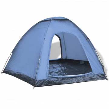 6 személyes kék sátor - ingyenes szállítás