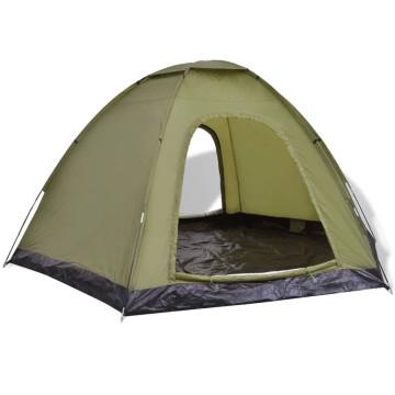Zöld 6 személyes sátor - ingyenes szállítás