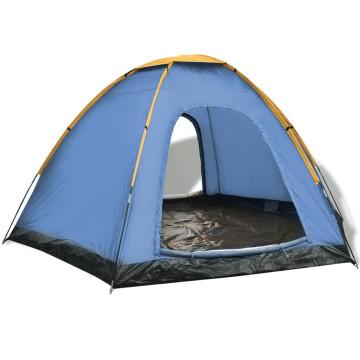 Sárga 6 személyes sátor - ingyenes szállítás