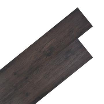 Sötétszürke tölgyfa színű 2 mm-es PVC padlóburkolat 5,26 m² - utánvéttel vagy ingyenes szállítással