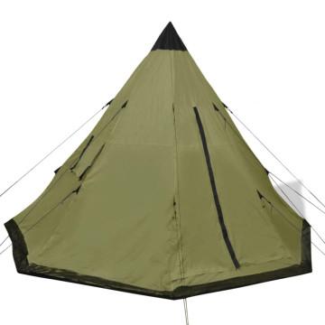 4 személyes zöld sátor - ingyenes szállítás