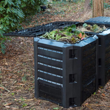 Nature 6071483 1200 literes komposztáló láda fekete - utánvéttel vagy ingyenes szállítással