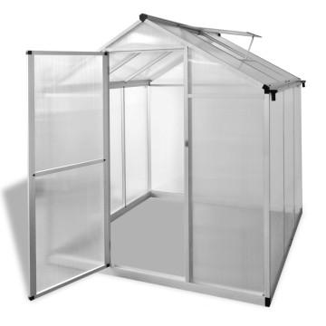Megerősített alumínium melegház 3,46 m² - ingyenes szállítás