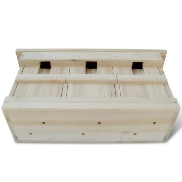 2 darab fa verébház 44 x 15,5 x 21,5 cm - utánvéttel vagy ingyenes szállítással