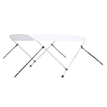 Fehér kétágú bimini tető 180 x 130 x 110 cm - utánvéttel vagy ingyenes szállítással