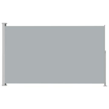Antracitszürke behúzható oldalsó terasznapellenző 220 x 300 cm - utánvéttel vagy ingyenes szállítással