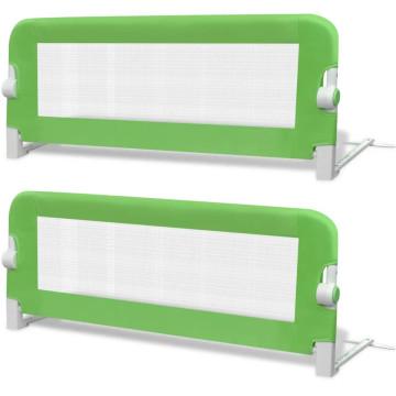 2 db zöld biztonsági leesésgátló 102 x 42 cm - ingyenes szállítás