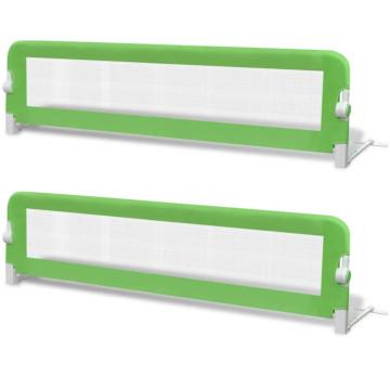 2 db zöld biztonsági leesésgátló 150 x 42 cm - ingyenes szállítás