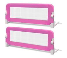 2 db rózsaszín biztonsági leesésgátló 102 x 42 cm - utánvéttel vagy ingyenes szállítással