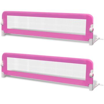 2 db rózsaszín biztonsági leesésgátló 150 x 42 cm - ingyenes szállítás