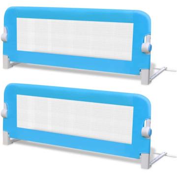 2 db kék biztonsági leesésgátló 102 x 42 cm - ingyenes szállítás