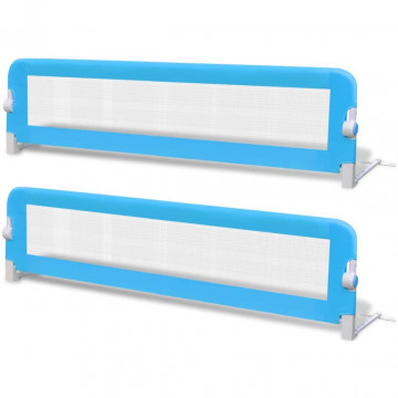 2 db kék biztonsági leesésgátló 150 x 42 cm - ingyenes szállítás