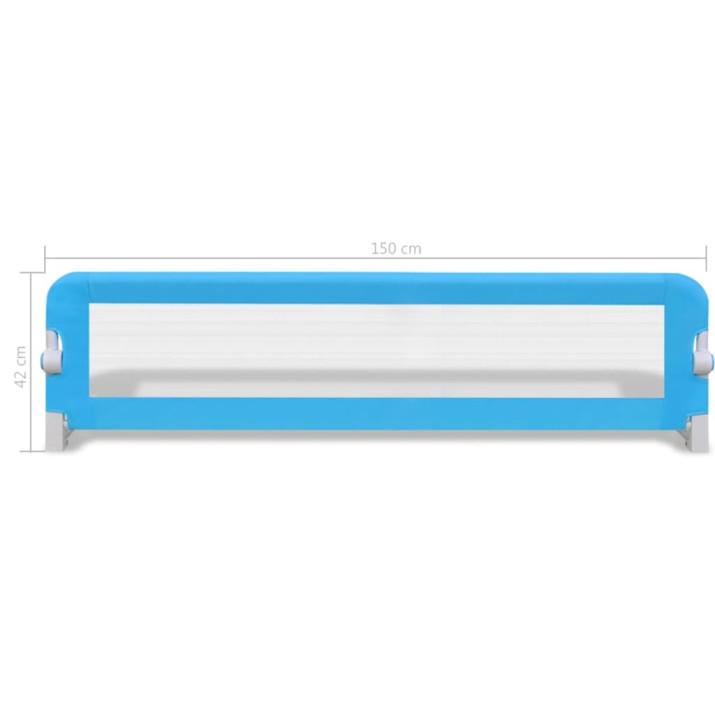 2 db kék biztonsági leesésgátló 150 x 42 cm - utánvéttel vagy ingyenes szállítással