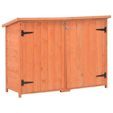Fa kerti fészer 120 x 50 x 91 cm - ingyenes szállítás