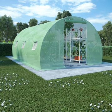 13,5 m²-es acélalapzatú melegház 450 x 300 x 200 cm - ingyenes szállítás