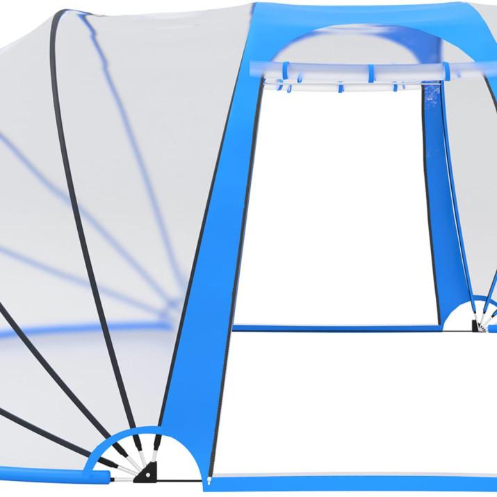 Ovális medencekupola 530 x 410 x 205 cm - utánvéttel vagy ingyenes szállítással