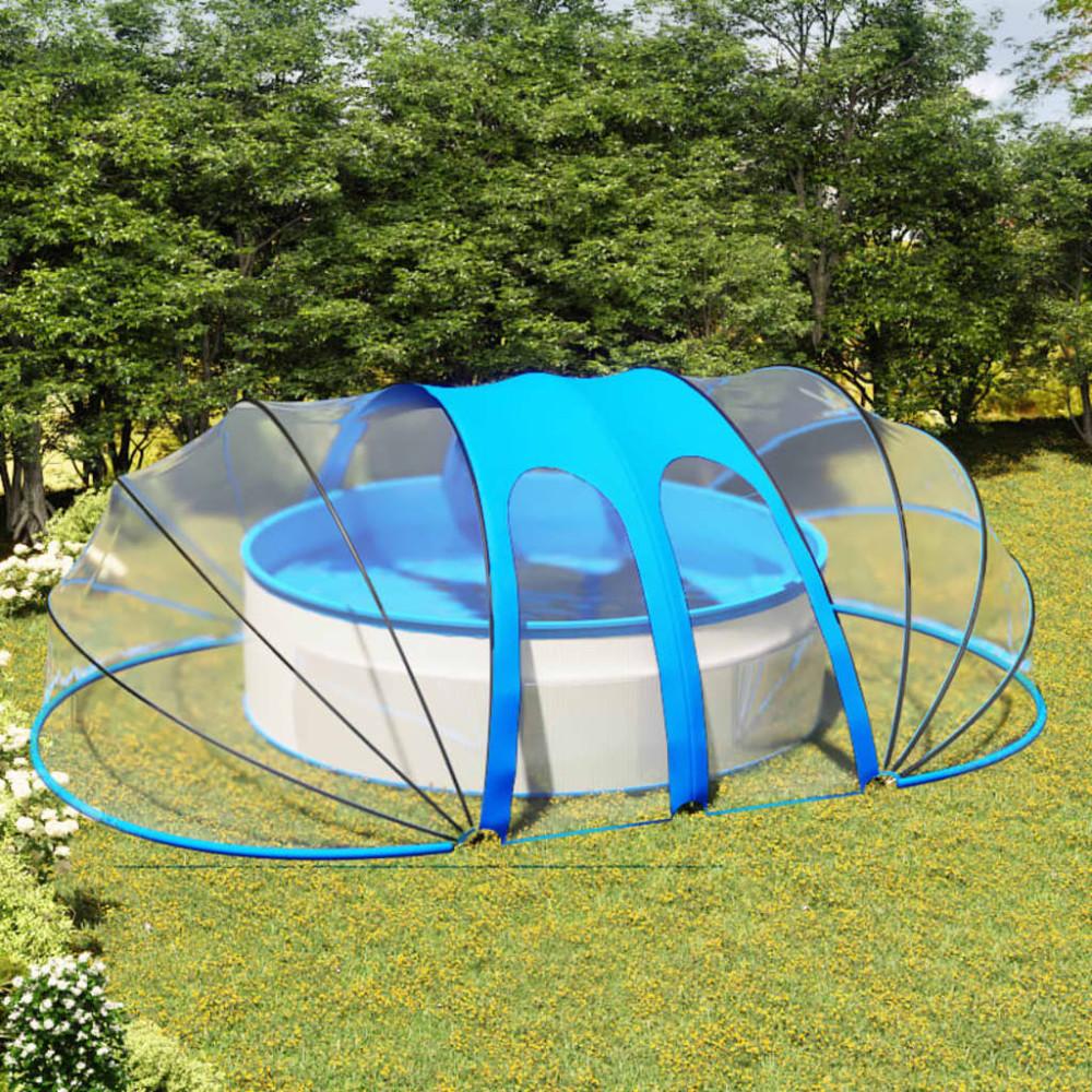 Ovális medencekupola 620 x 410 x 205 cm - utánvéttel vagy ingyenes szállítással