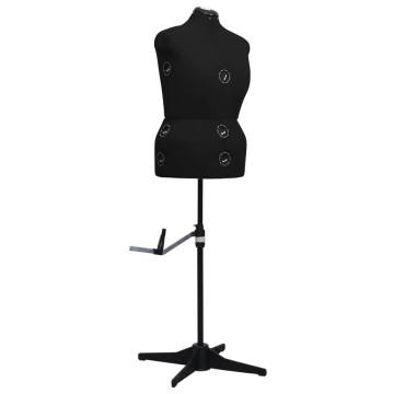 Fekete női állítható próbababa L-es méret 44-50 - utánvéttel vagy ingyenes szállítással