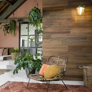 WallArt nyeregbarna természetes tölgyfa hatású lap - utánvéttel vagy ingyenes szállítással