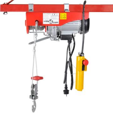 Elektromos emelő 1000 W 300/600 kg - utánvéttel vagy ingyenes szállítással