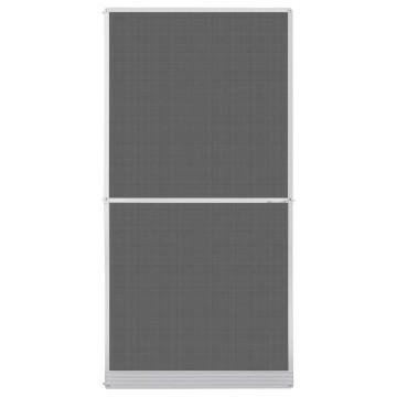 Fehér zsanéros szúnyogháló ajtóra 120 x 240 cm - utánvéttel vagy ingyenes szállítással