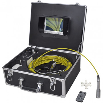 Csővizsgáló kamera DVR vezérlő dobozzal 30 m - utánvéttel vagy ingyenes szállítással