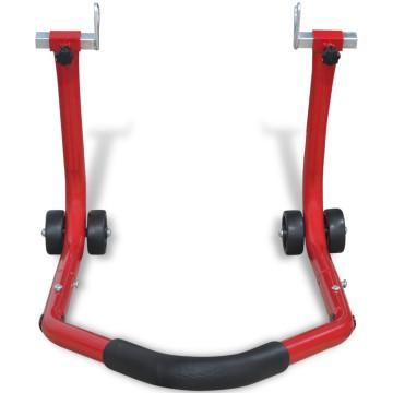 Piros hátsó motorkerékpár állvány - utánvéttel vagy ingyenes szállítással