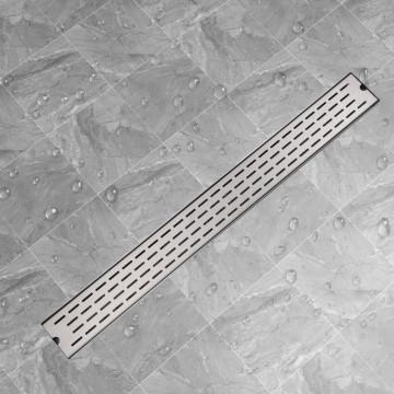1030x140 mm Lineáris rozsdamentes acél zuhany lefolyó - utánvéttel vagy ingyenes szállítással