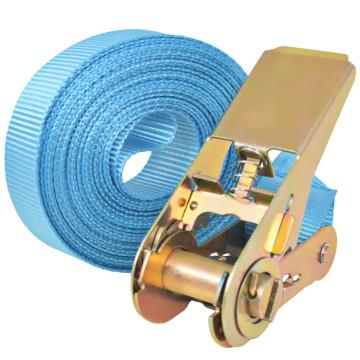 4 db kék racsnis spanifer 0,8 tonna 6 m x 25 mm - utánvéttel vagy ingyenes szállítással