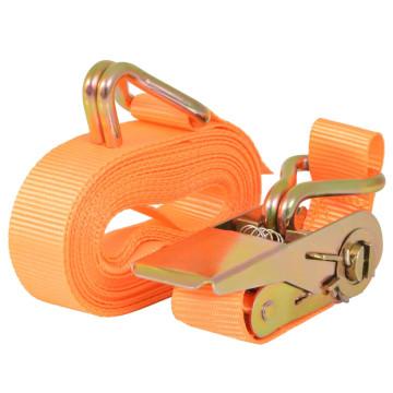 4 db narancssárga racsnis spanifer 0,4 tonna 6 m x 25 mm - utánvéttel vagy ingyenes szállítással
