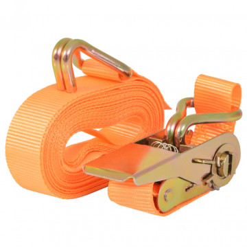 10 db narancssárga racsnis spanifer 0,4 tonna 6 m x 25 mm - utánvéttel vagy ingyenes szállítással