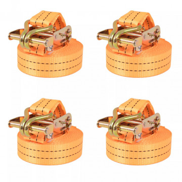 4 db narancssárga racsnis spanifer 1 tonna 6 m x 38 mm - utánvéttel vagy ingyenes szállítással