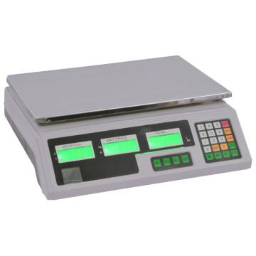 Digitális mérleg 30 kg-ig, akkumulátorral - ingyenes szállítás