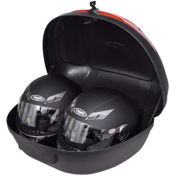 Motorkerékpár hátsó csomagtartó doboz 2 db bukósisakhoz 72 L - utánvéttel vagy ingyenes szállítással