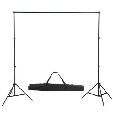 Fehér háttértartó állványrendszer 600 x 300 cm - utánvéttel vagy ingyenes szállítással