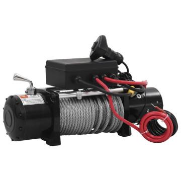Elektromos csörlő 12 V 5909 kg - utánvéttel vagy ingyenes szállítással