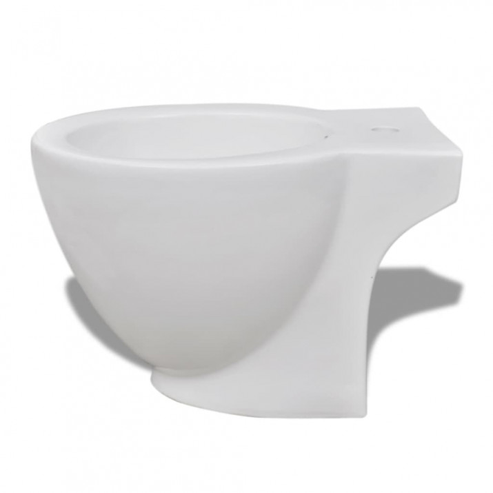 Álló kerámia WC & bidé szett fehér - ingyenes szállítás