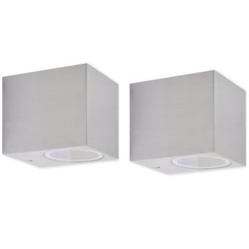 2 darab kültéri kocka fali lámpa - utánvéttel vagy ingyenes szállítással