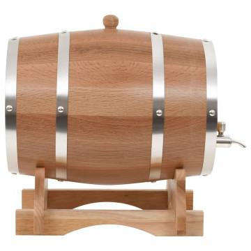 12 literes tömör tölgyfa hordó csappal - ingyenes szállítás
